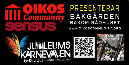 oikos - bakgården 10-12 juli