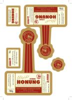 bi-HAPPY – Etiketter till honungsburkar 2014