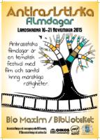 Antirasistiska filmdagar 2015 poster