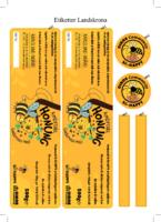 bi-HAPPY Landskrona – Etiketter till honungsburkar 2016