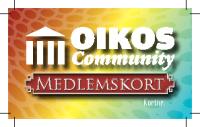 OIKOS Community – Medlemskort