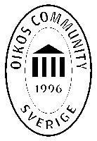 OIKOS Community 1996 – Oval logga