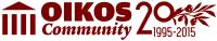 OIKOS Community 20-årsjubiléum – Kombinerad logga