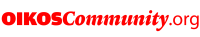OIKOSCommunity.org – Logga Röd