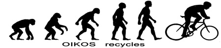 OIKOS bicycle recykles — cykelverkstad