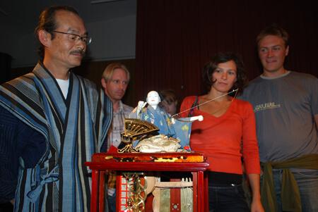 Interdock: gästspel från Japan (Karakuri ningyō)