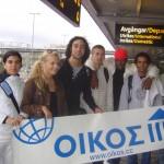 Ungdomsgrupp från OIKOS på väg till Portugal