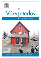 Vårvinterlov Landskrona 2013 info