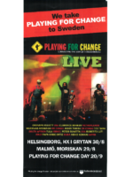 Playing for Change LIVE info