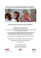Studiemotiverande Folkhögskolekurs för Romer info