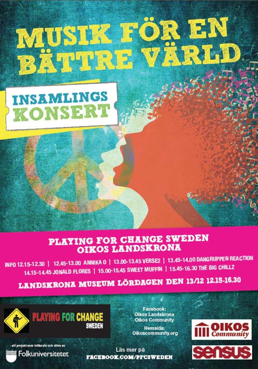 Insamlingskonsert Landskrona