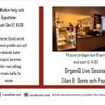 OrganiQ Live Session på Café Nell Walden