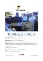 Biodlingskurs ht 2015