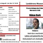 Håkan Barck & Jonald Flores till Café Nell Walden