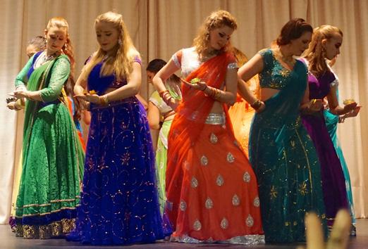 Diwali-fest på Arlövs teater. Foto: Liga Lagzdina