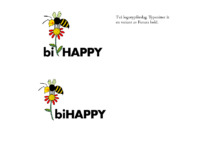 bi-HAPPY – Två logotypförslag