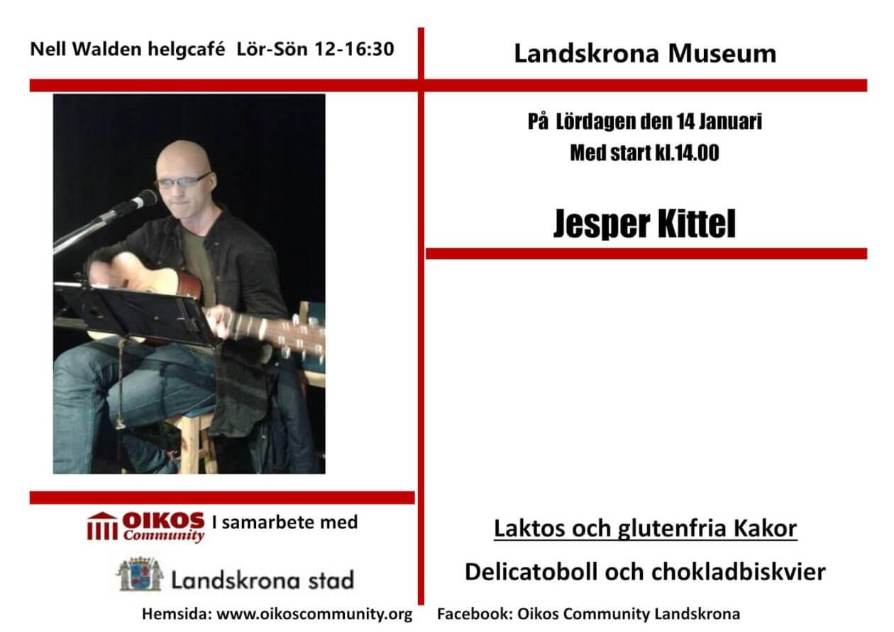Jesper Kittel till Café Nell Walden 2017-01-14